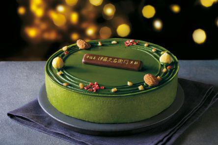 一味も二味も濃ゆい、京都・伊藤久右衛門が「抹茶クリスマスケーキ」をオンライン販売開始!