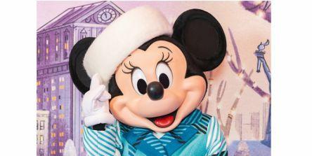 東京ディズニーランド「ミニーのスタイルスタジオ」冬限定コスチューム公開!