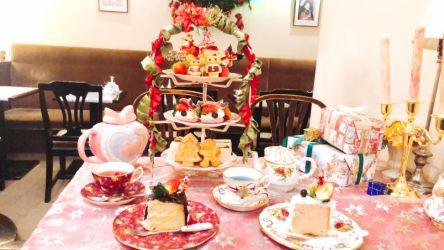 クリスマスは「アコリット」で決まり!行列のできる喫茶店のかわいすぎるアフタヌーンティー