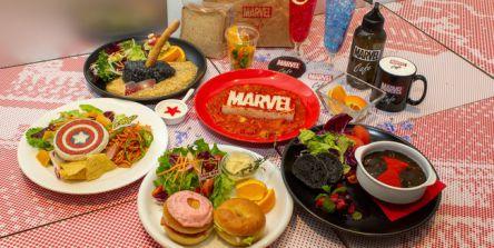 速報!話題すぎるヒーローを輩出、「MARVEL」の世界観を表現したカフェが2021年大阪に登場