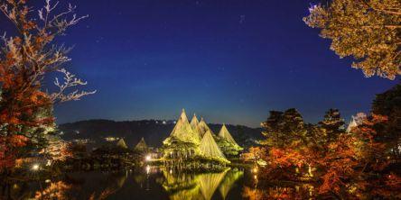 石川県のおすすめイルミネーション(2020-2021)金沢、輪島など