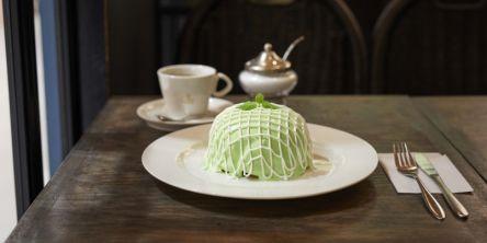 銀座の「喫茶店 ブリッヂ」で、メロン尽くしのパンケーキ!