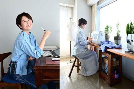 おうち時間に楽しみたい!  イラストレーター津田蘭子さんが教える古着リメイクの魅力
