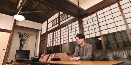 鎌倉にある古民家でおひとりワーケーション【琥珀-AMBER-】
