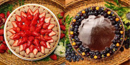 「キルフェボン」バレンタインの新作タルトは華やかな「イチゴ」とシックな「コーヒー」♪