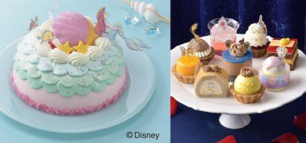 コージーコーナーのディズニーケーキ『リトル・マーメイド』と『美女と野獣』がかわいすぎ
