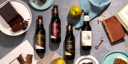 昨年は7分で完売!チョコグラスで楽しむチョコレートビールは2/1発売