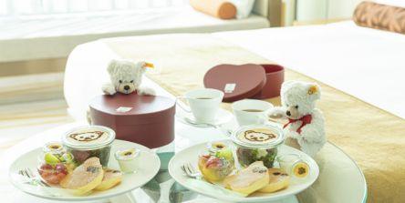 ホテルでテディベアと過ごすバレンタイン&ホワイトデー!「ザ・プリンスギャラリー 東京紀尾井町」のおこもりスイーツプラン