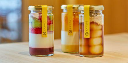 京都「果朋(KAHOU)」の瓶詰めパフェ・みたらしだんごがかわいい!お取寄せも可能な新感覚和菓子を紹介