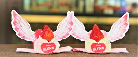 鎌倉・小町通りで発見!季節のお餅専門店の「恋するいちご大福」