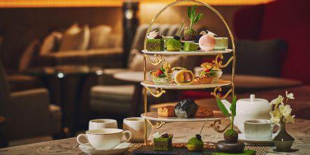 【ホテル インターコンチネンタル 東京ベイ】宇治抹茶アフタヌーンティーで和の癒しタイムを