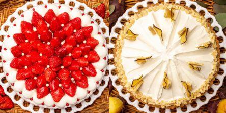 「キル フェ ボン」3月の新作タルトは「イチゴとオレンジムース」とねっとり濃厚な甘みのブランドさつまいも「旭甘十郎」