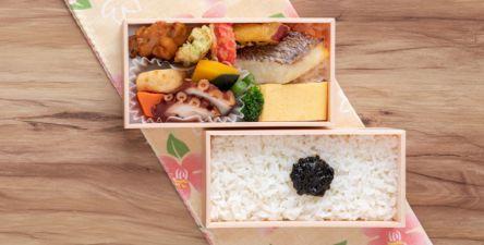 ニューオープンの新大阪Sotoe(ソトエ)「象印銀白弁当」に明石の食材を味わえるお弁当が登場