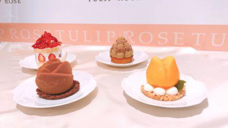 TOKYOチューリップローズの新作はチーズ&春満開の花園スイーツ!