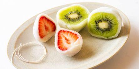 大阪「まる姫」のジューシーすぎるフルーツ大福!至福の口溶けと果汁感に感動
