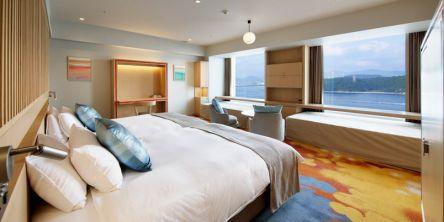 広島から15分。海を望む絶景リゾートホテルで、ゆったり6連泊プラン登場【グランドプリンスホテル広島】ワーケーションにも!