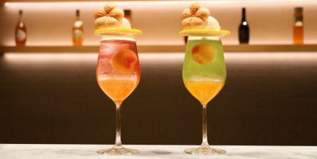 梅酒カクテル専門店『The CHOYA 銀座 BAR』で春色みつけた梅クリームソーダを期間限定販売