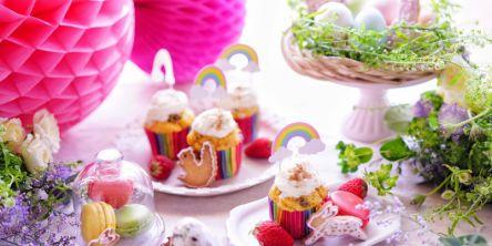 ホットケーキミックスで簡単!ふわふわキャロットケーキでハッピーイースター♪【kyoko_plusのレシピ&テーブルコーデvol.30】