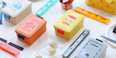 懐かしのエモかわ文具がランチボックスになっちゃった!「レトロ文具ランチシリーズ」が新登場