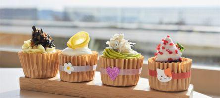 鎌倉・由比ガ浜が目の前!オーガニック&グルテンフリーで話題のカップケーキ専門店