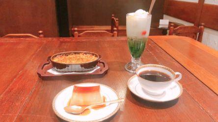 渋谷の昭和レトロな「喫茶サテラ」絶品プリンとコーヒーでノスタルジックなひとときを