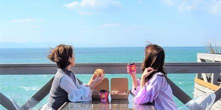 ぐるり270度オーシャンビュー!淡路島に断面萌えパン勢揃いの「ベーカリーカフェ ミサキ」オープン