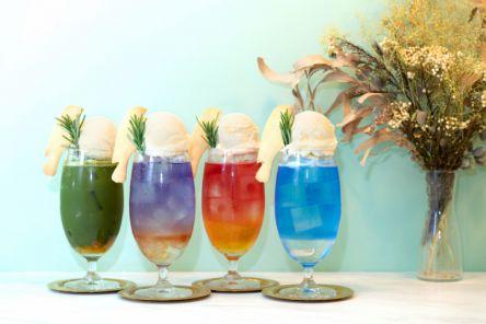 大阪「ASIAN RAD AFTERS」の新メニュー登場! 素材にこだわったアジアンテイストな「おとなクリームソーダ」