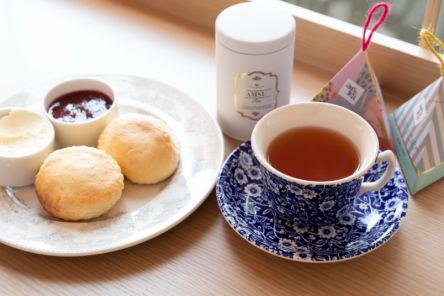 グランフロント大阪でティーフリーを体験!多彩な紅茶と自家製スコーンが楽しめる「TEA ROOM KIKI 紅茶&スコーン専門店」