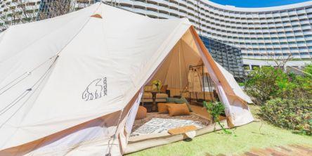 舞浜のホテルで星空キャンプ&グランピング泊を体験できるプランが登場!【シェラトン・グランデ・トーキョーベイ・ホテル】
