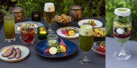 屋外テラスが快適♪日本茶レストランの「抹茶ビアガーデン」開催決定!予約受付中
