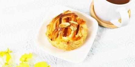 ふじりんご1/2個使用! ローソンの「陽まるアップルパイ」を実食