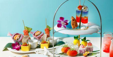 ハワイへショートトリップ!「東京マリオットホテル」でカラフル「アロハアフタヌーンティー2021」開催