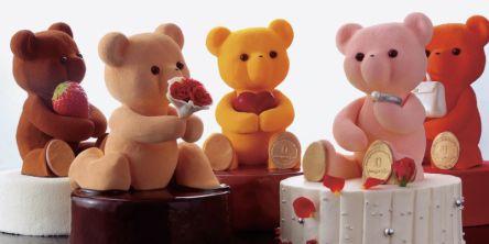 カラフルなテディベアケーキに夢中♪大人のための究極スイーツが揃う「LOUANGE TOKYO」