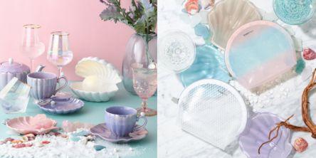 「Francfranc」注目の夏アイテム貝殻モチーフ&トレンドカラーでお部屋の涼しさアップ