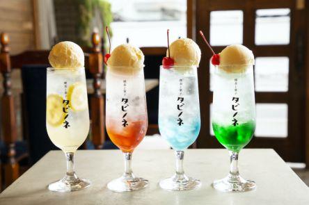 大阪「喫茶と菓子 タビノネ」は新しいのにレトロ?クリームソーダで昭和にタイムスリップ!