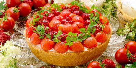 トマト・枝豆・キャロット♪「キル フェ ボン」から野菜が主役のタルトが登場