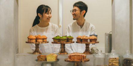 自然派化粧品の製造者が、京都・古川町商店街に焼き菓子カフェ「ロカヒ菓子店」をオープン!