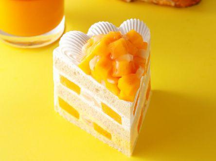 【1日20個限定】パティスリーSATSUKIの「マンゴーショートケーキ」がぜいたくすぎる!