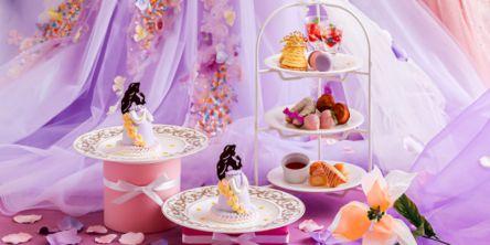 プリンセスのドールケーキ付き!緑豊かな空間でいただく「フラワープリンセスアフタヌーンティー」