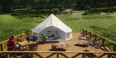 スパリゾートハワイアンズのグランピング施設「マウナヴィレッジ」が2021年7月26日オープン!
