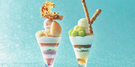 ぜいたくな食べ比べもできちゃう!「ストリングス・パフェ」に夏の新作2種が登場!
