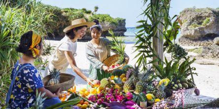 【2021沖縄】絶景海カフェ!星野リゾート バンタカフェでトロピカルフルーツを楽しむ