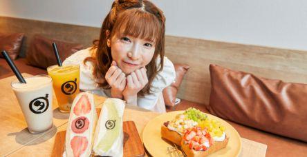「ダカフェ 恵比寿店」で豪華なフルーツ三昧!【大食いアイドルもえのあずきの絶品グルメ】