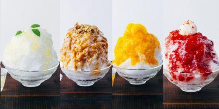 「AKOMEYA食堂」新作は「大人のかき氷」!いちご、ミルク紅茶、レモン、みかんの自家製シロップ+リキュールで味変