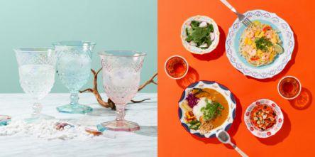 暑い夏は「Francfranc」の新作テーブルウェアでおしゃれで涼しく彩る注目アイテム