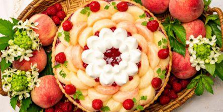1年に1週間だけ!「キル フェ ボン」で桃づくしのイベント「Peach Week」開催