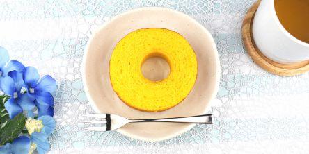 レモンのさわやかな生地に塩のパンチが利いた、ローソン新作バウム