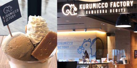 銘菓「クルミッ子」を横浜で楽しみ尽くす!工場一体型の「鎌倉紅谷 Kurumicco Factory」へ
