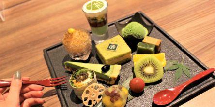 お茶好き必見!日本茶づくしのアフタヌーンティープレートが夏限定で登場!気になる中身を実食レポート