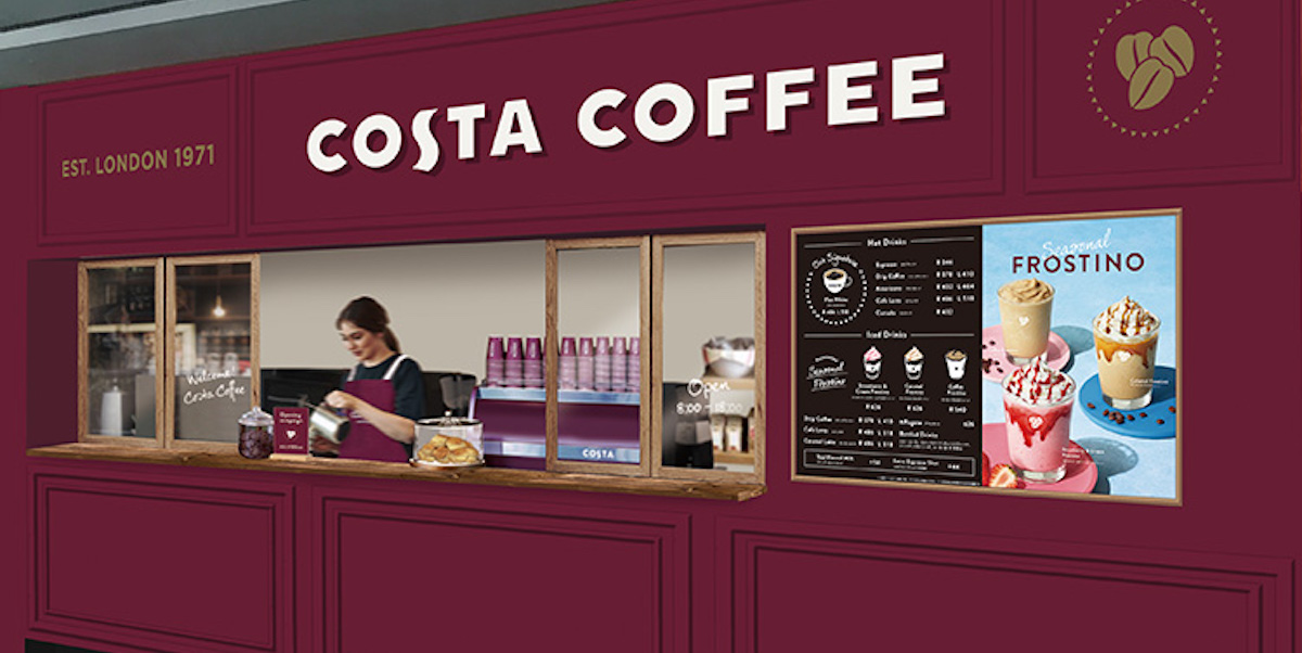 2021年7月「コスタコーヒー 原宿駅店」オープン!バリスタがいれる高品質コーヒーを手軽に楽しめる
